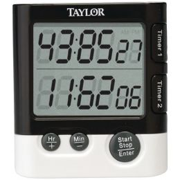 Taylor Precision Products 5828 Dual-Event Digital Timer/Clock