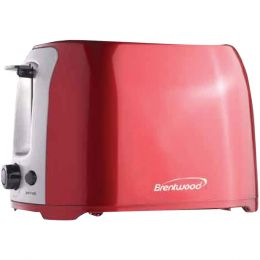 Brentwood 2-slice Cool Touch Toaster (red & Stainless Steel) BTWTS292R