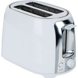 Brentwood 2-slice Cool Touch Toaster (white & Stainless Steel) BTWTS292W