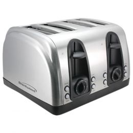 Brentwood 4-slice Elegant Toaster With Brushed Stainless Steel Finish BTWTS445S