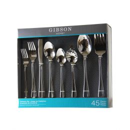 Gibson Home 45 Piece Flatware Set