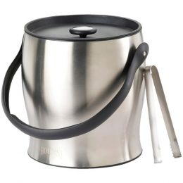 Houdini W4710T Double-Walled Ice Bucket with Tongs