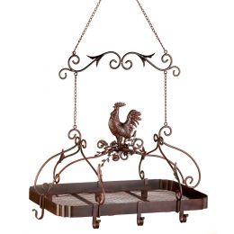 Country Rooster Kitchen Rack 10012657