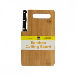 Bamboo Cutting Board With Built-in Knife OF980