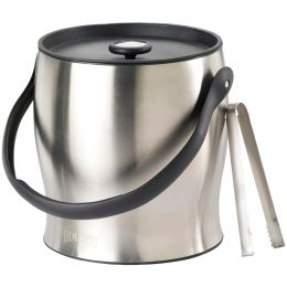 Houdini Double-walled Ice Bucket With Tongs TAPW4710T