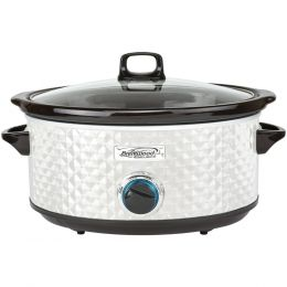 Brentwood Appliances 7-quart Slow Cooker (pearl White) BTWSC157W