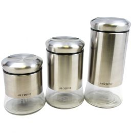 Mr. Coffee Canister Set Ensemble by Cocaux